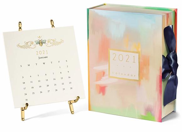 2021 Karen Adams Calendar with Easel