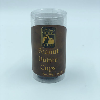 Chocolate Peanut Butter Cups Tube of 4