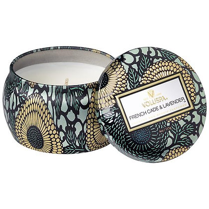 French Cade Lavender Petite Tin Candle