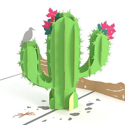 Saguaro Cactus Pop Up Card