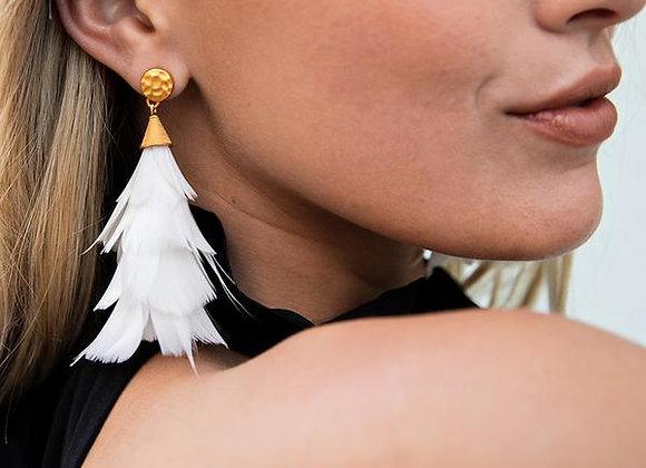 Jane Feather Statement Earrings
