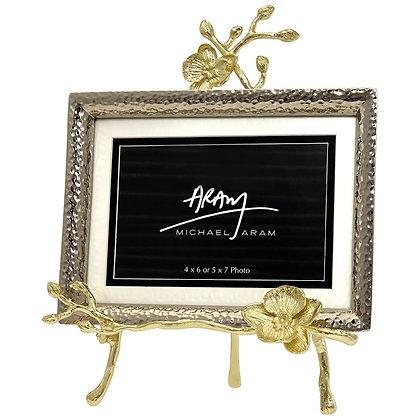 Golden Orchid Easel Frame