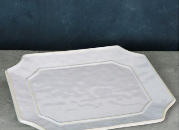 White Rectangular Platter - VIDA Charleston