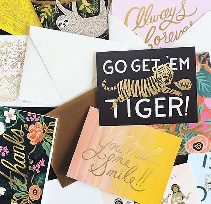 Rifle paper co greeting card collection.