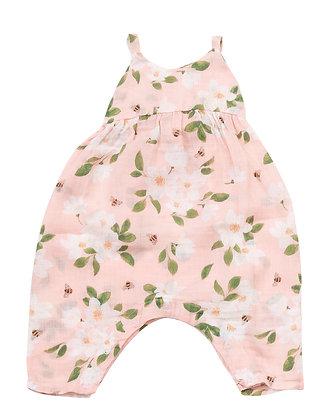 Magnolias Tie Back Romper