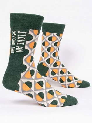 Easy Challenge Men's Crew Socks