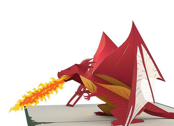 Dragon Pop Up Card