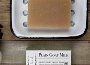 Plain Goat Milk Bar Soap