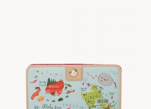 Hawaiian Islands Snap Wallet