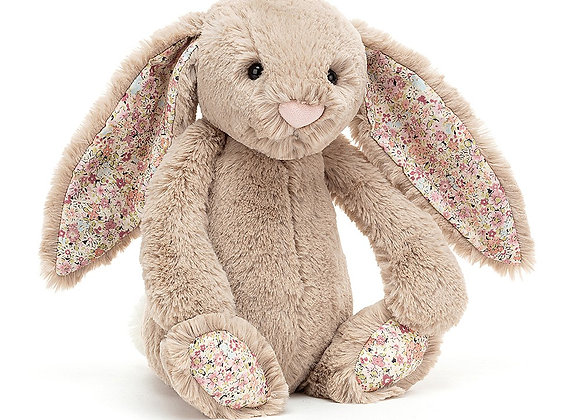 Bea Beige Blossom Bunny