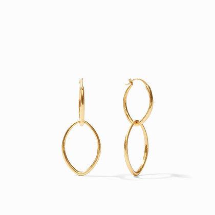 Fleur-de-Lis 2-in-1 Earring