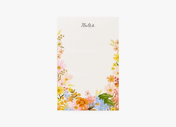 Marguerite Blank Notepad