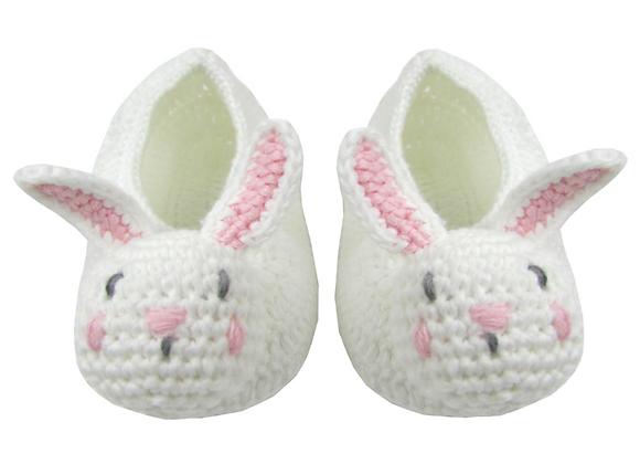Crochet Baby Bunny Booties
