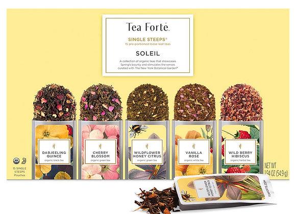 Soleil Single Steeps Tea- 15 pieces