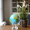 Thumbnail: 6in Relief Map Blue Mova Globe with Acrylic Base