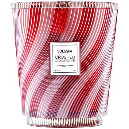 Crushed Candy Cane 5 Wick Hearth Candle