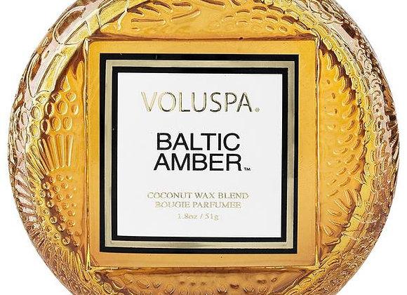 Baltic Amber Macaron Candle