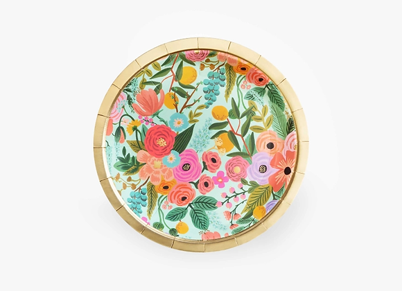 10 Small Garden Party Paper Plates