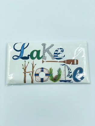 Lake House Single Flour Sack Towel