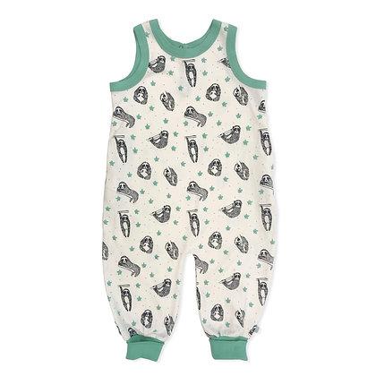 Sloths Organic Cotton Jumpsuit