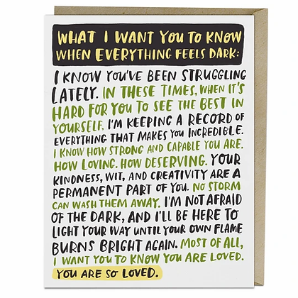Everything Dark Empathy Card