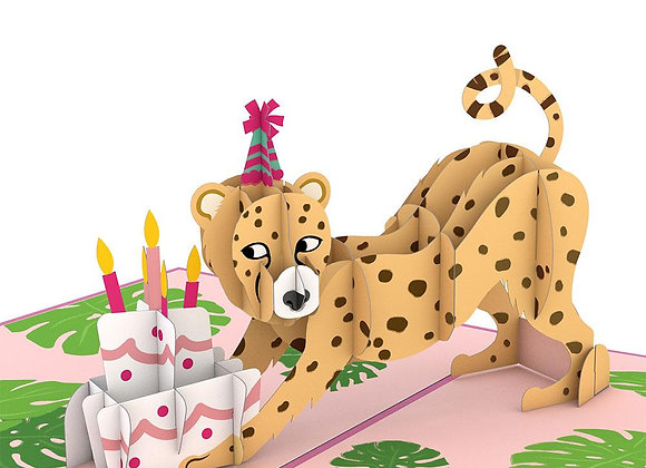 Wild Birthday Pop Up Card