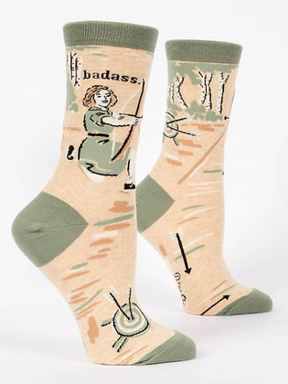 Badass Women's Crew Socks