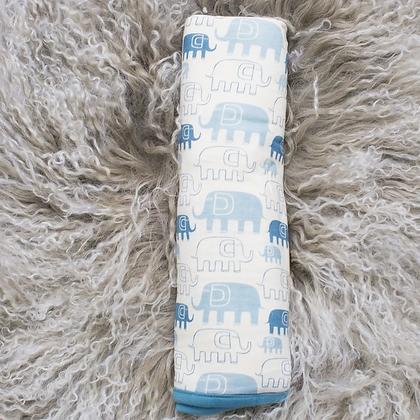 Blue Elephants Blanket