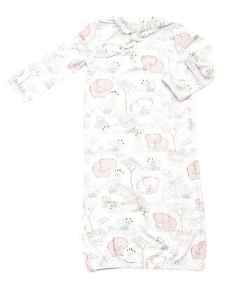 Pink Elephant Family Kimono Gown