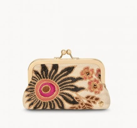 Barbee Floral Coinpurse