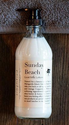 Sunday Beach Goat Milk Lotion 16oz