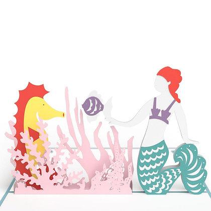 Mermaid Pop Up Card