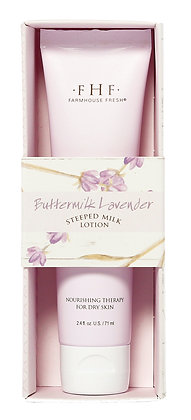 Buttermilk Lavender Steeped Milk Lotion for Hands