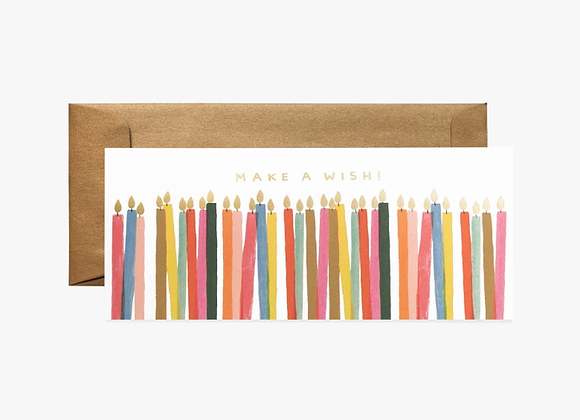 Make A Wish No. 10 Birthday Card