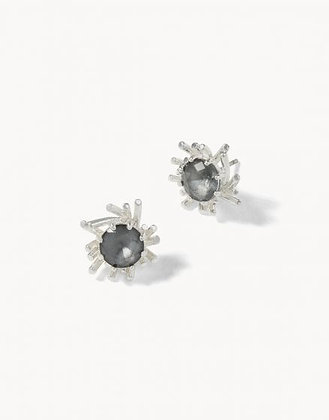 Mermaid Glass Splash Stud Earrings