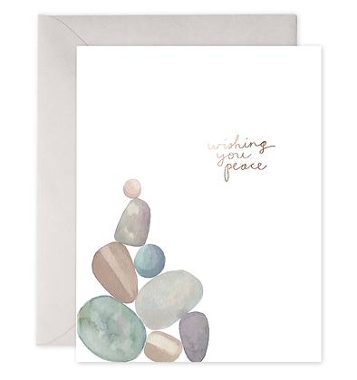 Peace Rocks Card