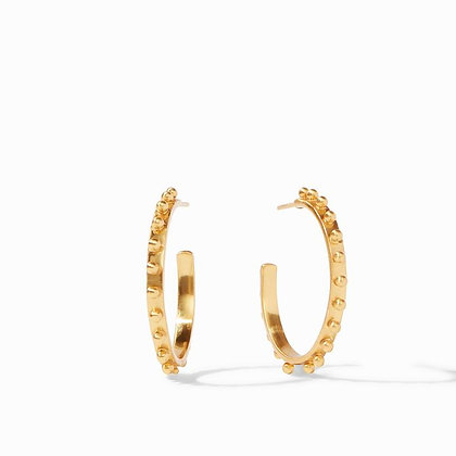 Gold Soho Hoop Earrings