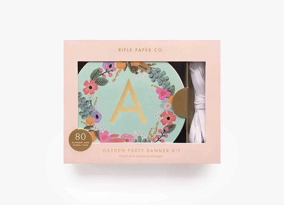 Garden Party Banner Kit