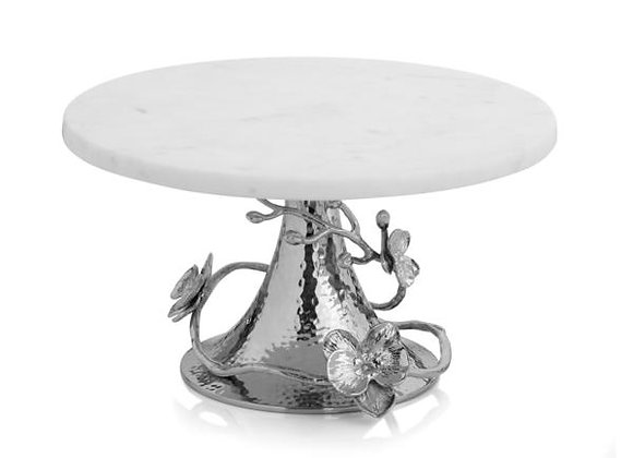 White Orchid Cake Stand