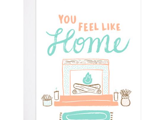 Feel Like Home Card