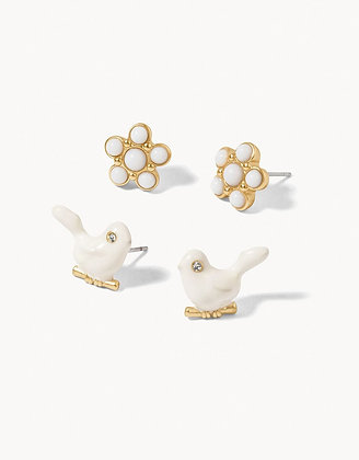 Songbird Stud Earrings Set