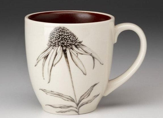 Cone Flower Mug by Laura Zindel