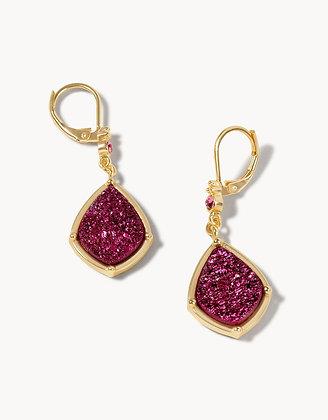 Druzy Drop Earrings