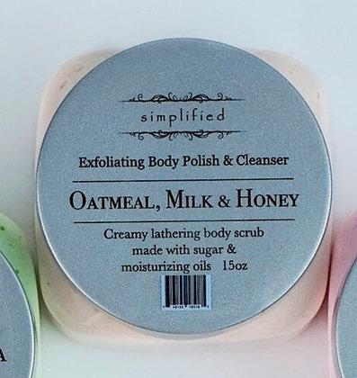 Oatmeal Milk & Honey Exfoliating Body Polish 16oz
