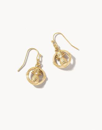 Sweet Pineapple Drop Earrings