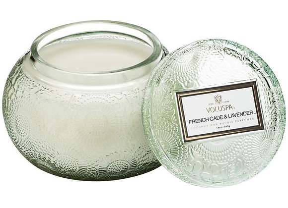 French Cade Lavender Chawan Bowl Candle