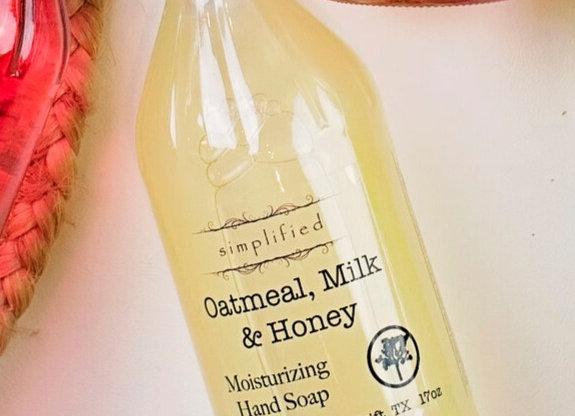 Oatmeal Milk & Honey Hand Soap