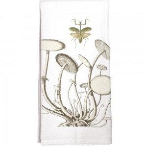 Mushroom Mantis Single Flour Sack Towel
