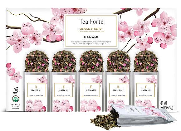 Hanami Single Steeps Tea- 15 pieces