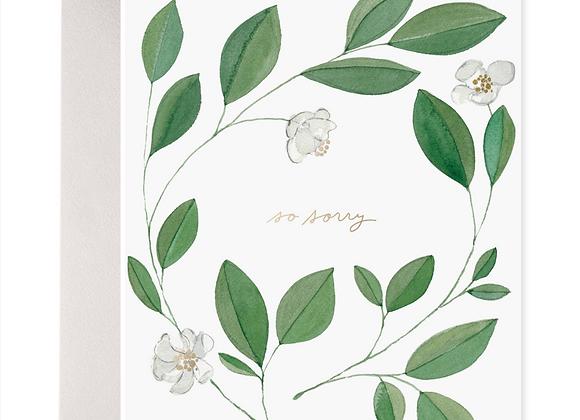 Magnolia Condolence Card